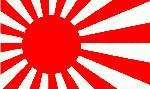 drapeau nippon guerrier